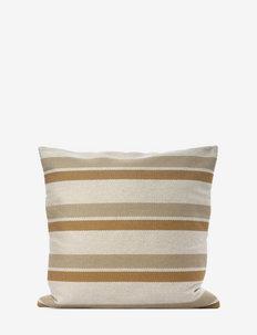 Striped C/c 50x50cm - cushion covers - yellow