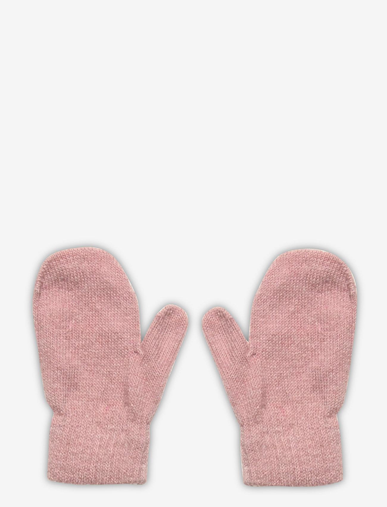 CeLaVi - Basic magic mittens -solid col - uldtøj - misty rose - 0