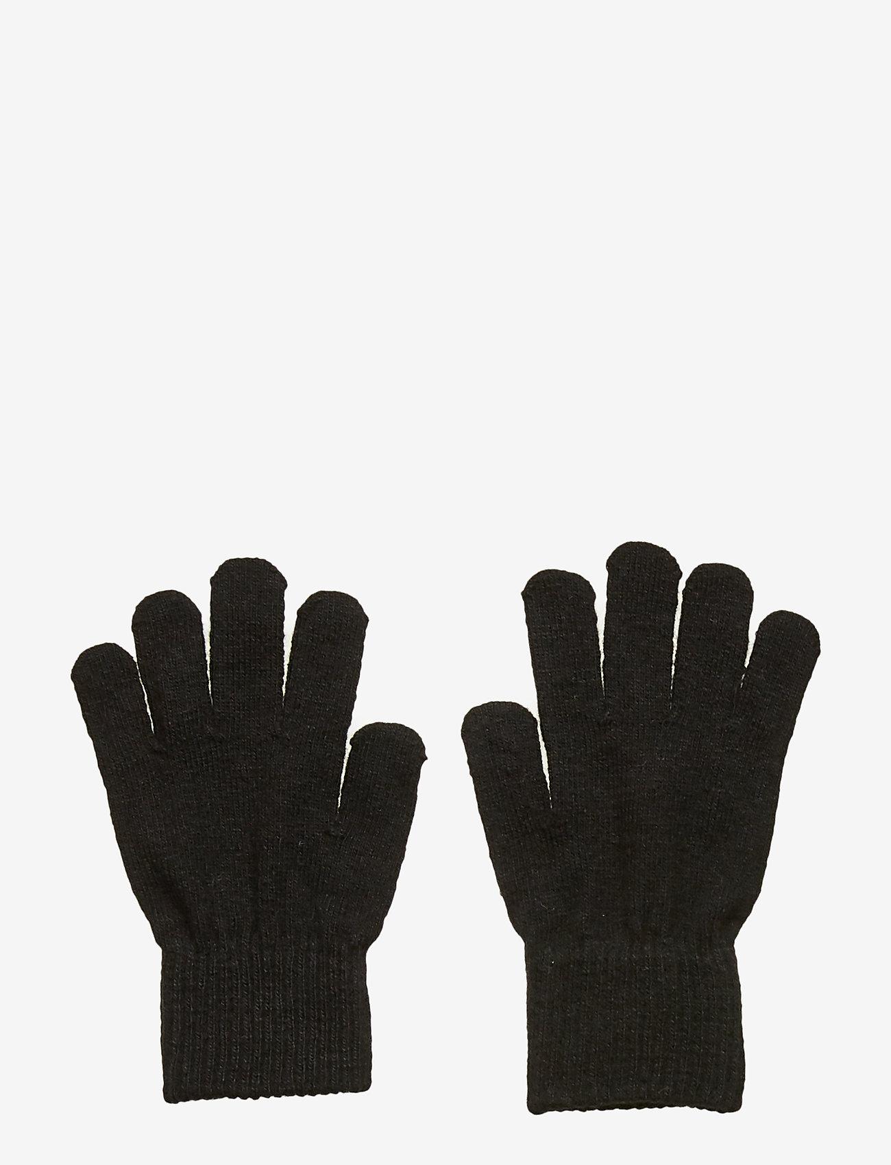 CeLaVi - Basic magic finger gloves - uldtøj - black - 0
