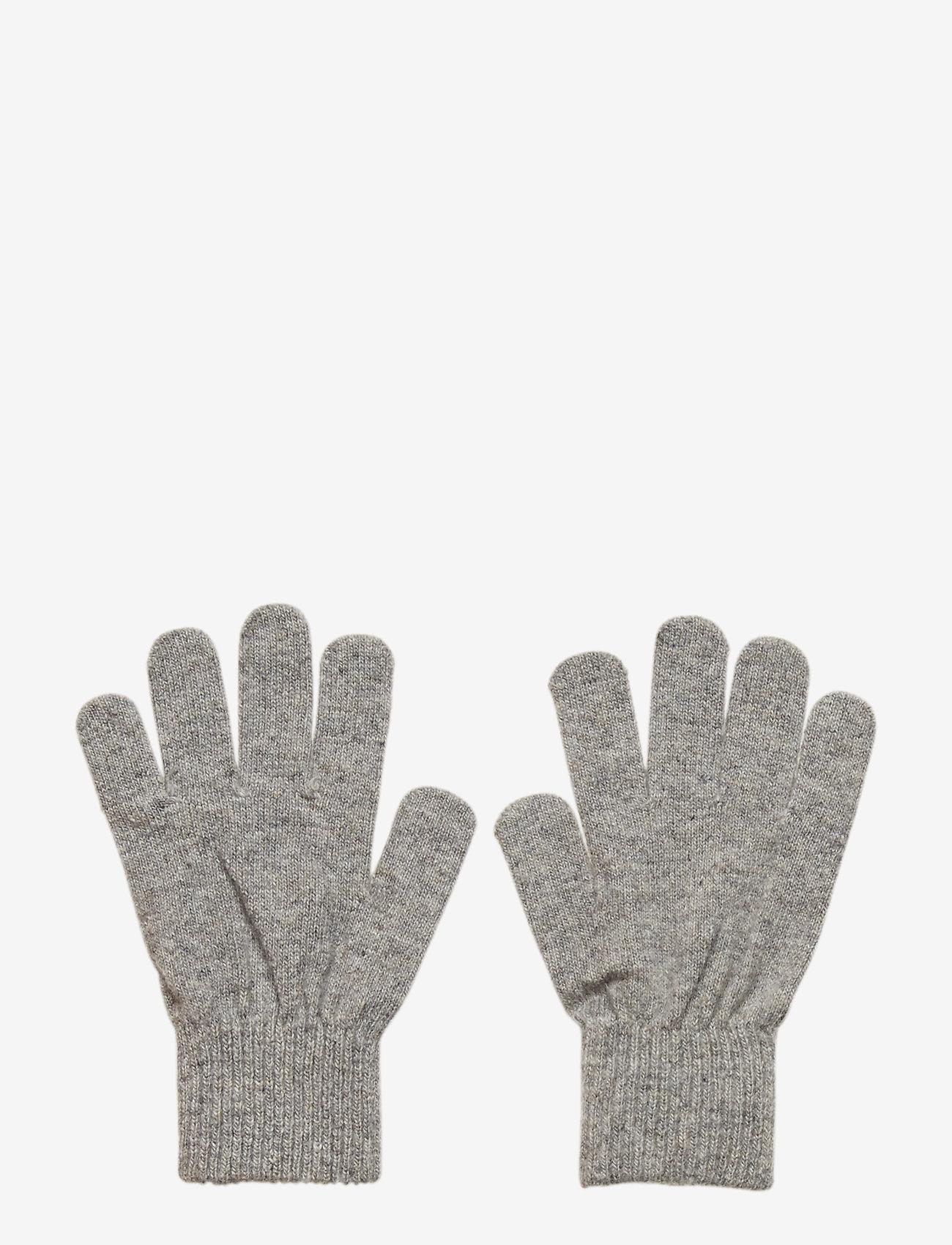CeLaVi - Basic magic finger gloves - uldtøj - grey - 0