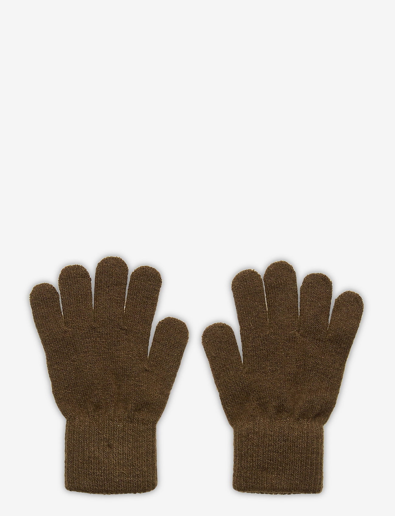 CeLaVi - Basic magic finger gloves - uldtøj - military olive - 0