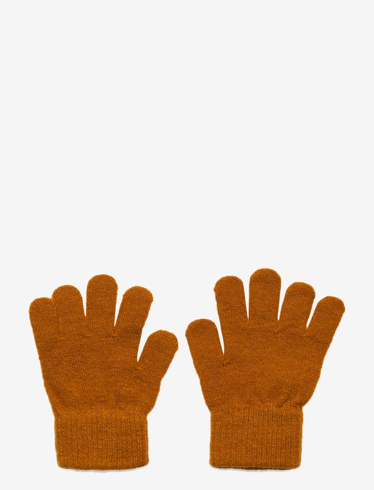 CeLaVi - Basic magic finger gloves - uldtøj - pumpkin spice - 0