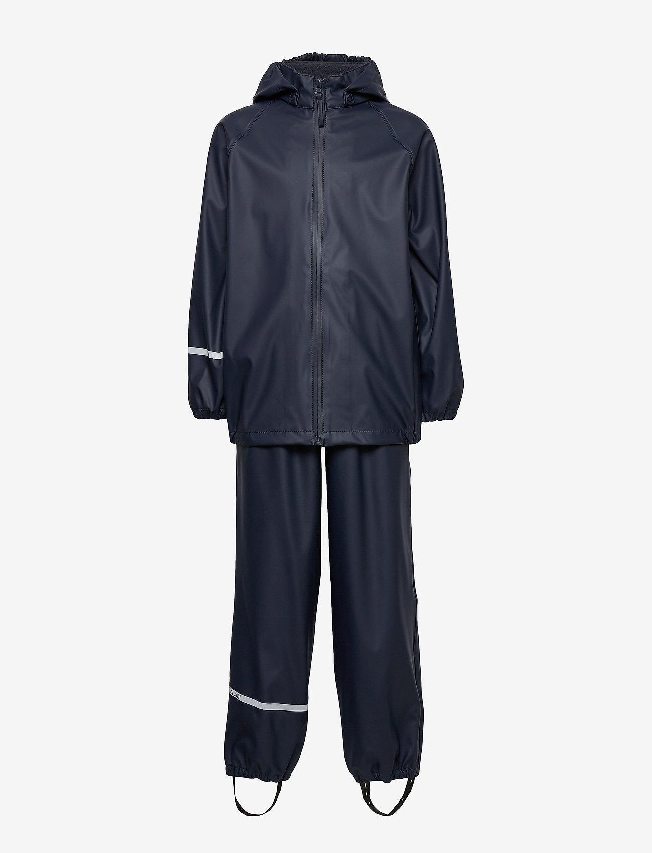 CeLaVi - Basic rainwear set -Recycle PU - sets & suits - dark navy - 0