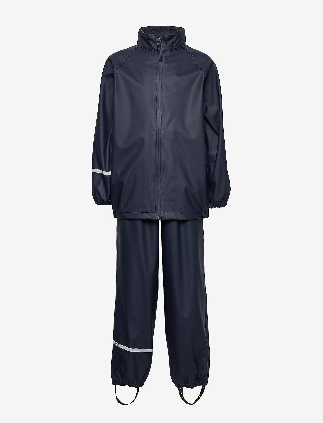 CeLaVi - Basic rainwear set -Recycle PU - sets & suits - dark navy - 1