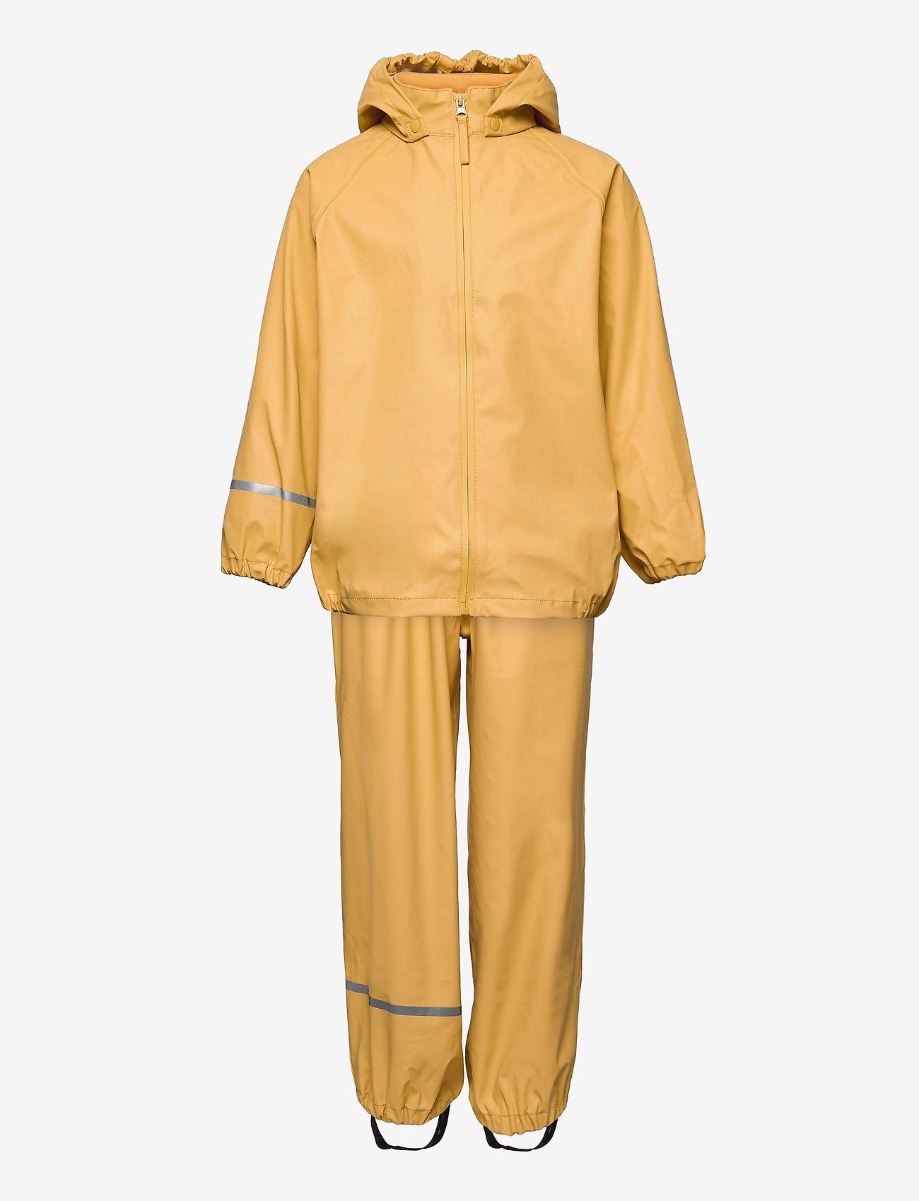 CeLaVi - Basic rainwear set -Recycle PU - sets & suits - rattan - 0