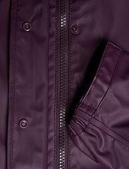 CeLaVi - Basci rainwear set, solid - Ūdensnecaurlaidīgs apģērbs - blackberry wine - 9