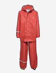 Basci rainwear set, solid - BAKED APPLE