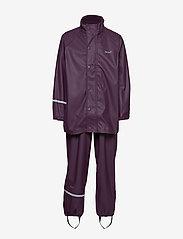 CeLaVi - Basci rainwear set, solid - Ūdensnecaurlaidīgs apģērbs - blackberry wine - 2