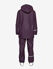 CeLaVi - Basci rainwear set, solid - Ūdensnecaurlaidīgs apģērbs - blackberry wine - 3