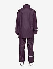 CeLaVi - Basci rainwear set, solid - Ūdensnecaurlaidīgs apģērbs - blackberry wine - 4