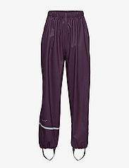 CeLaVi - Basci rainwear set, solid - Ūdensnecaurlaidīgs apģērbs - blackberry wine - 5