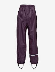 CeLaVi - Basci rainwear set, solid - Ūdensnecaurlaidīgs apģērbs - blackberry wine - 7