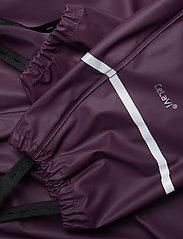 CeLaVi - Basci rainwear set, solid - Ūdensnecaurlaidīgs apģērbs - blackberry wine - 13