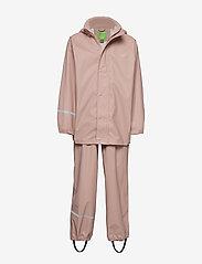 Basci rainwear set, solid - MISTY ROSE