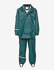 Basci rainwear set, solid - PONDEROSA PINE