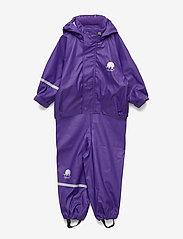 Basci rainwear set, solid - PURPLE