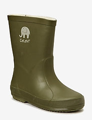 Basic wellies -solid - ARMY