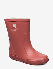 Basic wellies -solid - REDWOOD