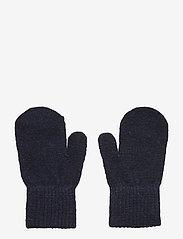 Basic magic mittens -solid col - DARK NAVY