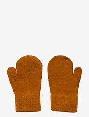 CeLaVi - Basic magic mittens -solid col - uldtøj - pumpkin spice - 1