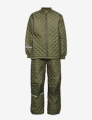 Basic thermal set -solid - DUSTY OLIVE