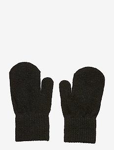 Basic magic mittens -solid col - uldtøj - black