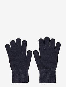 Basic magic finger gloves - uldtøj - dark navy