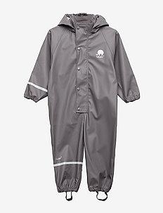 Rainwear suit -Solid PU - sets & suits - grey