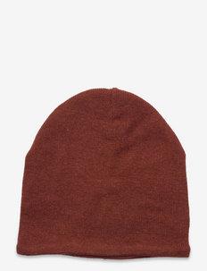 Beanie - Knitted - beanie - mahogany