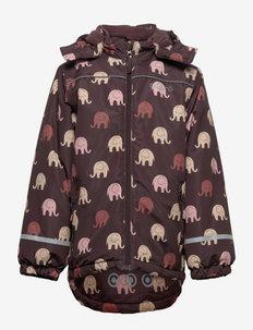 Jacket - AOP - shell jackets - fudge