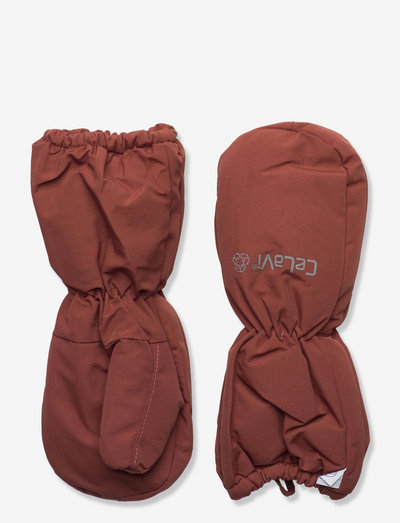 Mittens - Solid - hats & gloves - mahogany