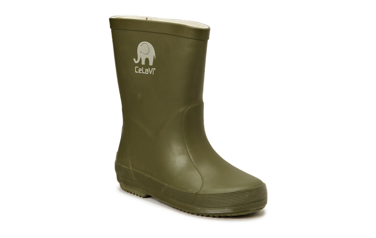CeLaVi Basic wellies -solid - ARMY