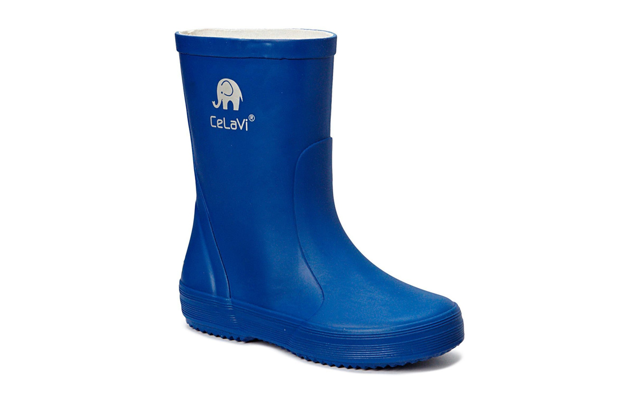 CeLaVi Basic wellies -solid - OCEANBLUE