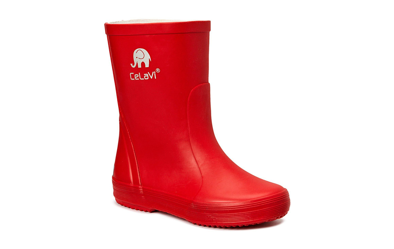 CeLaVi Basic wellies -solid - RED