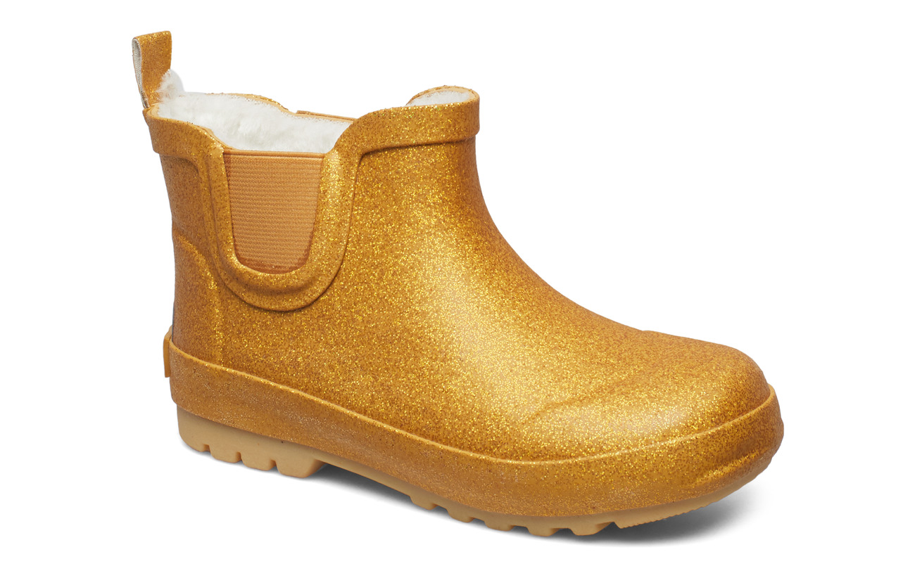 CeLaVi Thermal wellie short w.linning - PALE GOLD