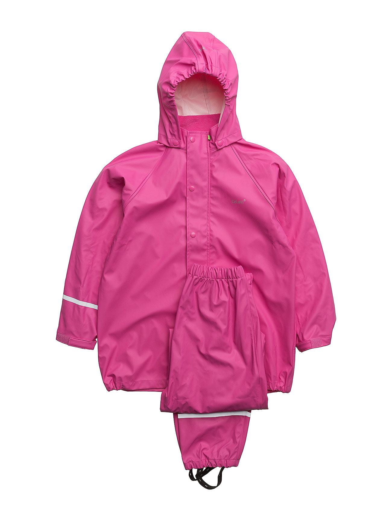 Image of Basci Rainwear Set, Solid Regntøj Lyserød CeLaVi (3276044333)