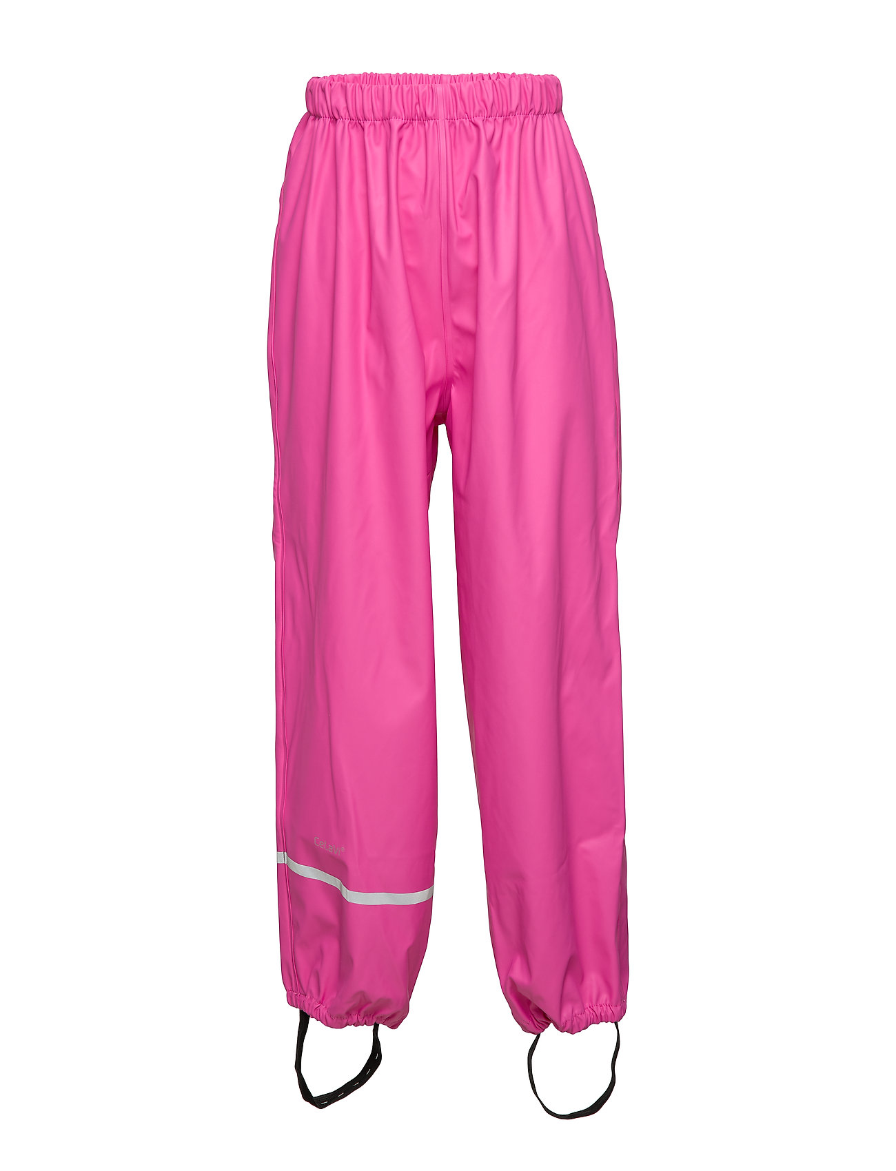 CeLaVi Rainwear pants, solid - REAL PINK