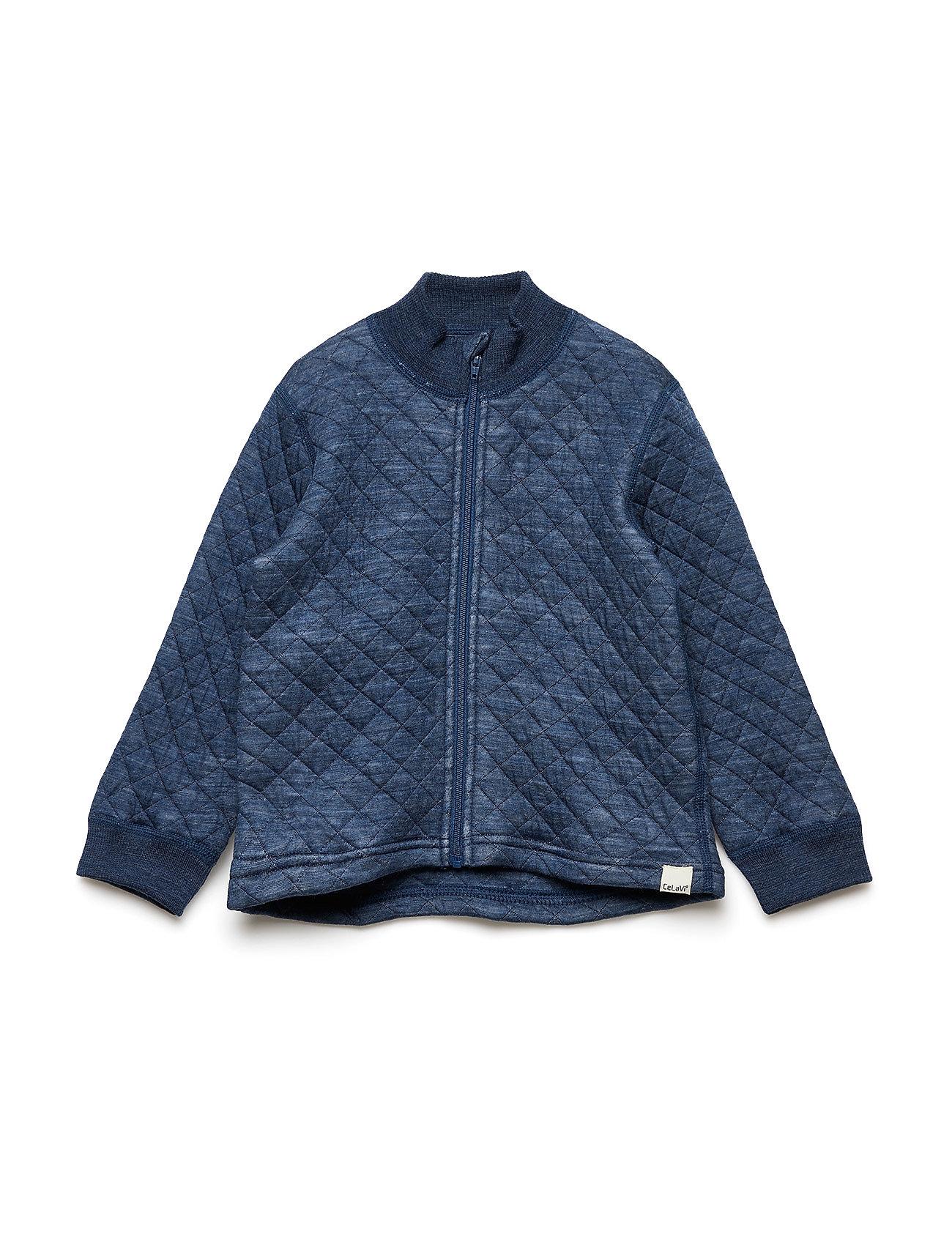 CeLaVi Jacket LS Wonder wollies - ENSIGN BLUE