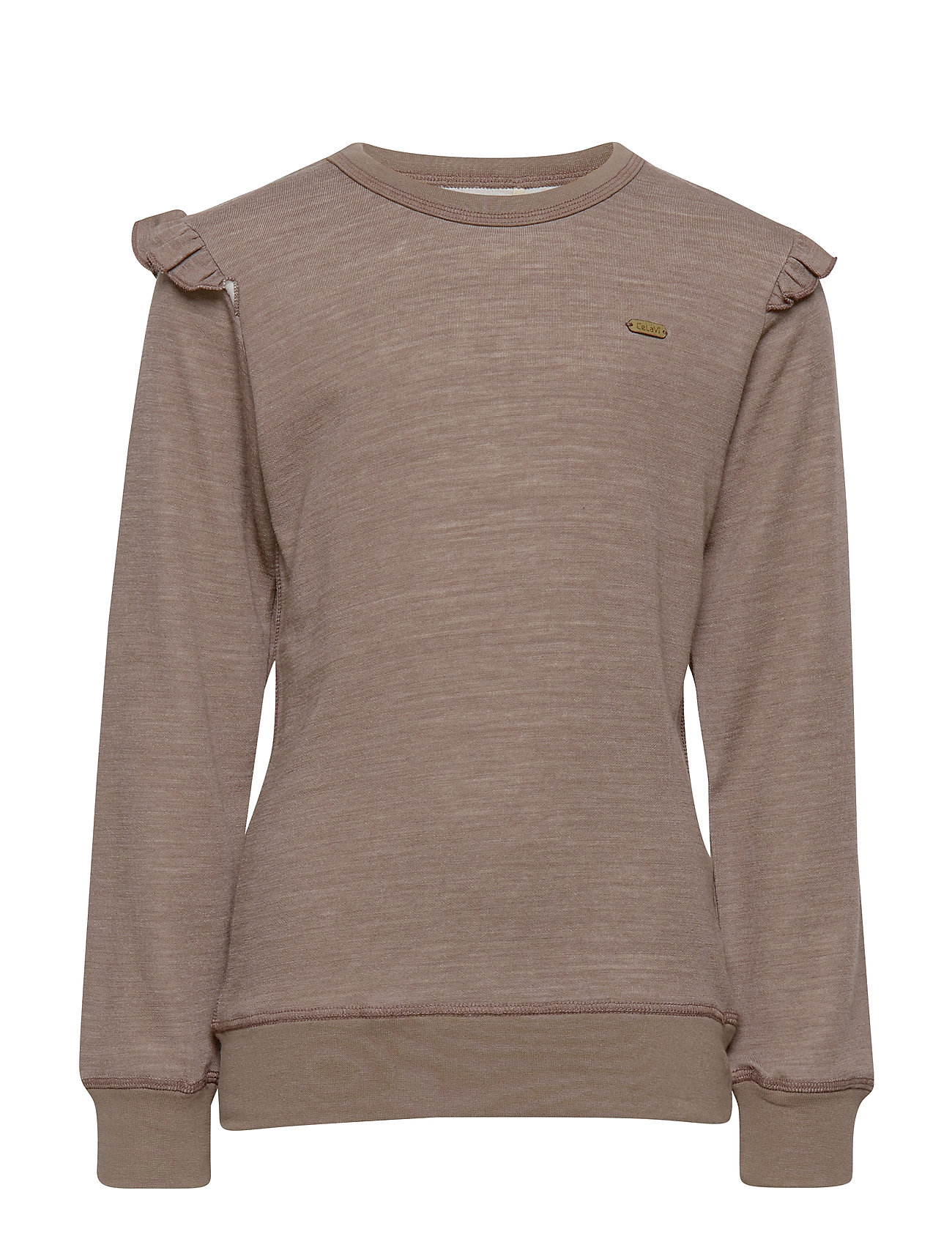 CeLaVi Sweatshirt LS, Solid, Melange - ACRE