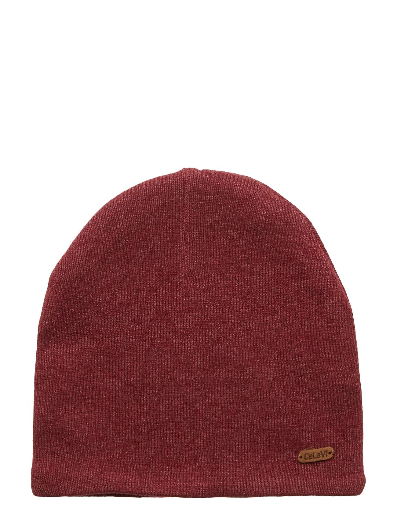 CeLaVi Hat - Knit - MAROON