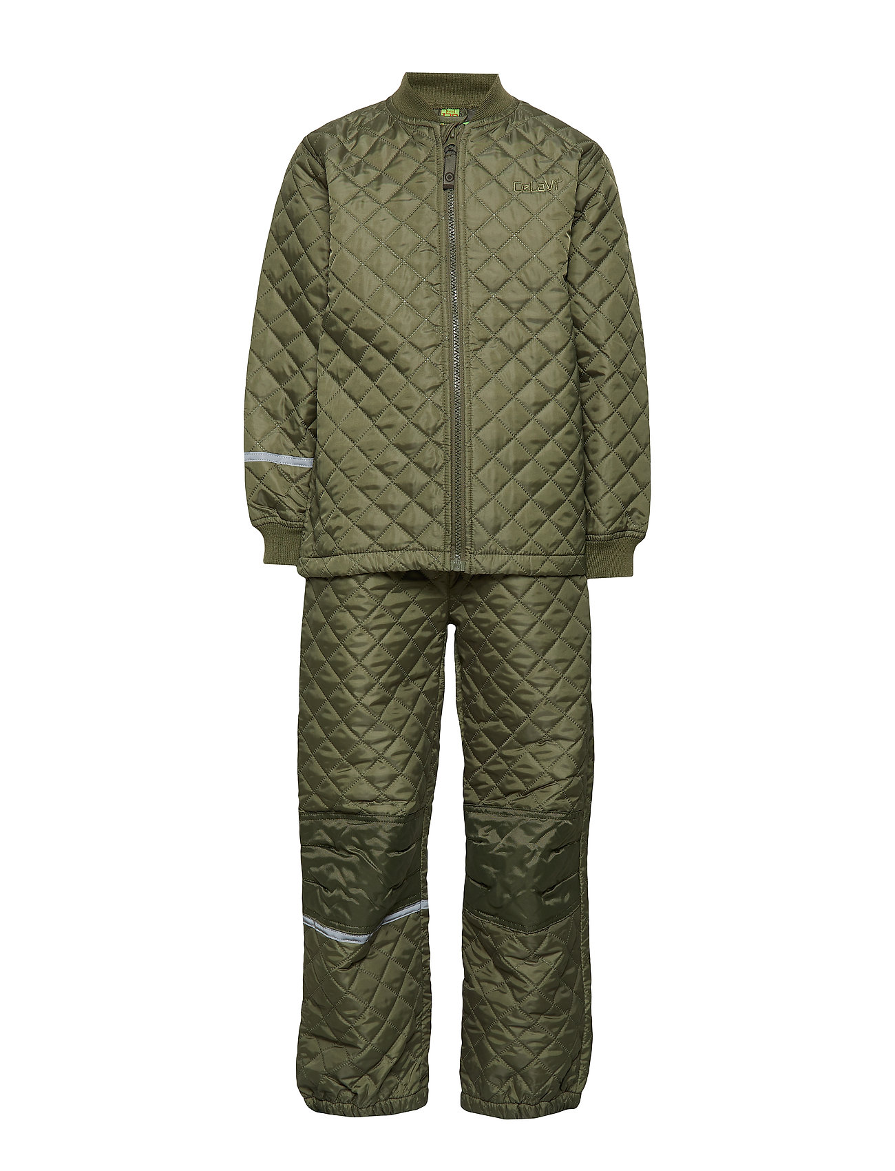 Image of Thermal Set -Solid Outerwear Thermo Outerwear Grøn CeLaVi (3047198593)