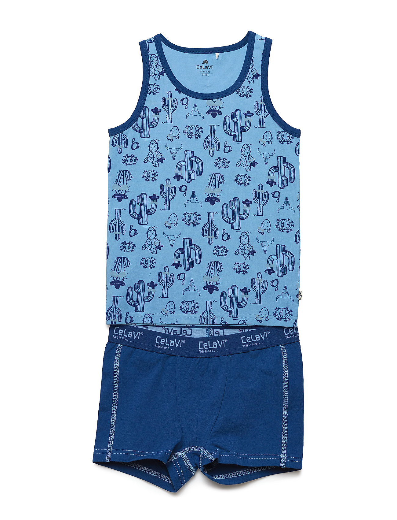 CeLaVi Underwear set w.boy print