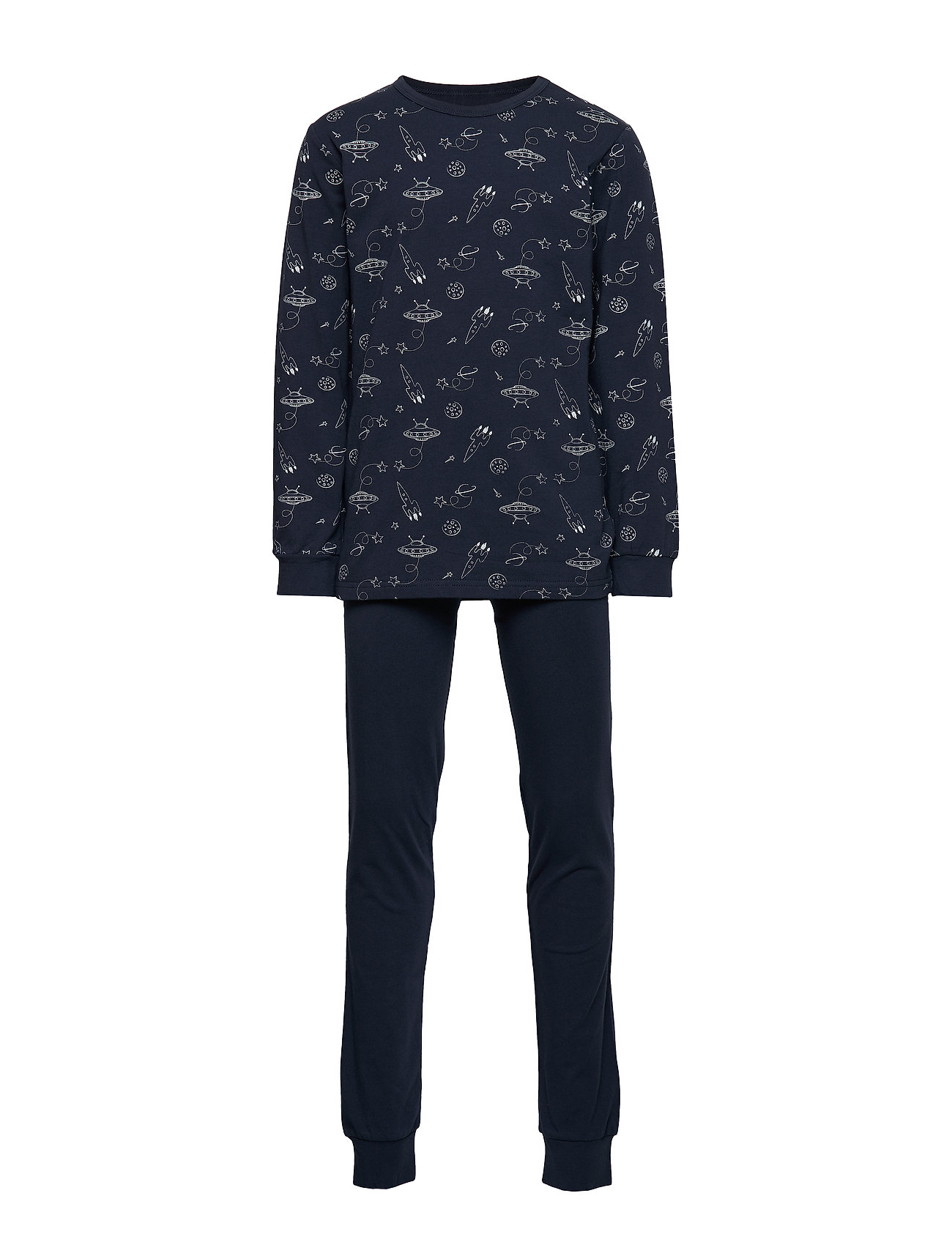 Pajamas W.Aop Pyjamasetti Pyjama Sininen CeLaVi