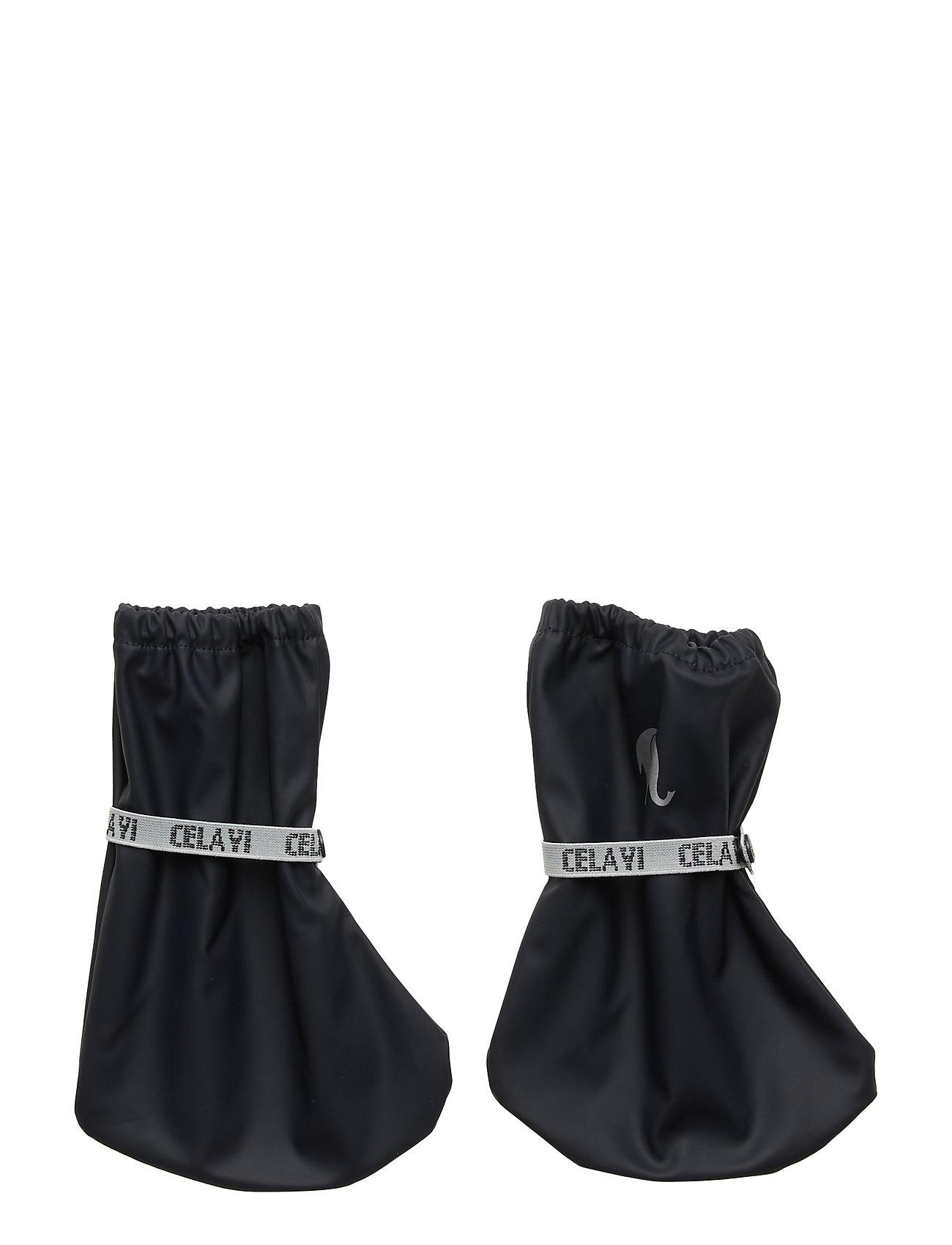 Image of Pu-Footies W/O Padding Outerwear Rainwear Accessories Blå CeLaVi (3464118485)