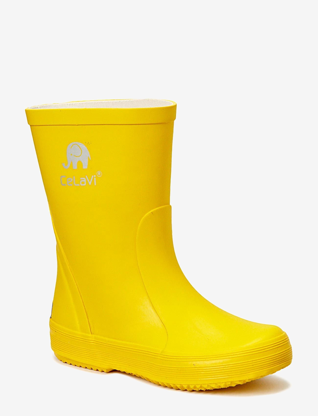 CeLaVi - Basic wellies -solid - rubberboots - yellow