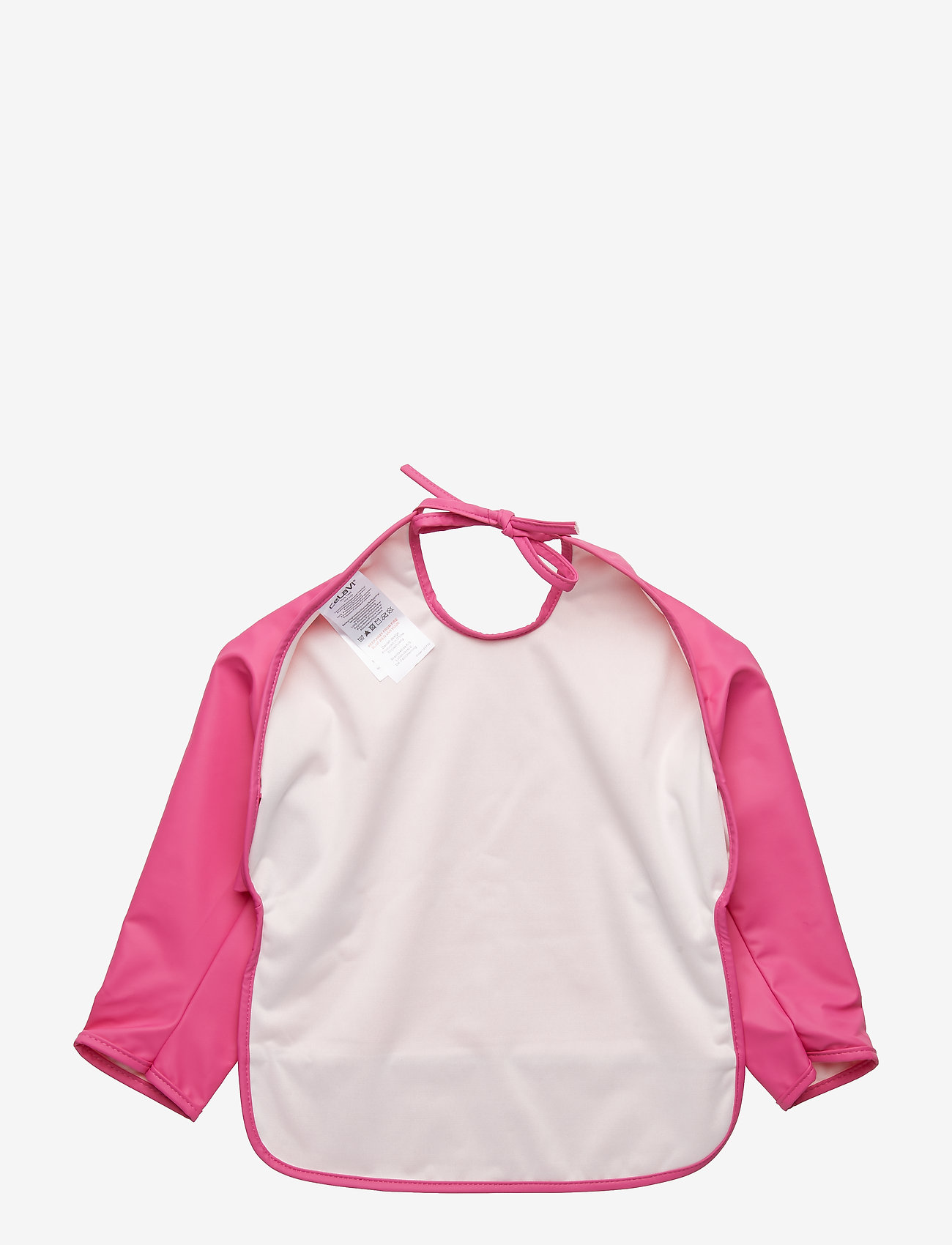 CeLaVi - Basic PU-apron LS - lätzchen - real pink - 1
