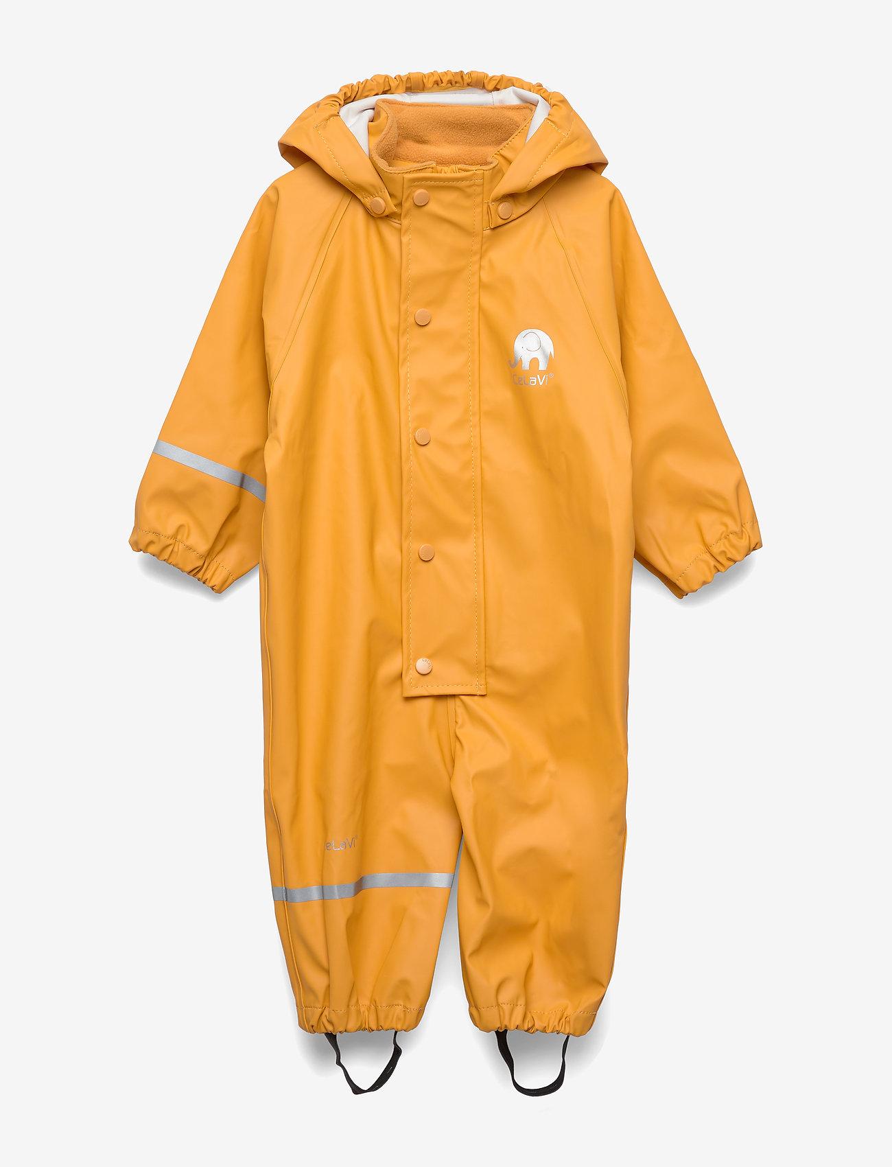 CeLaVi - Rainwear suit -PU - ensembles - mineral yellow - 0