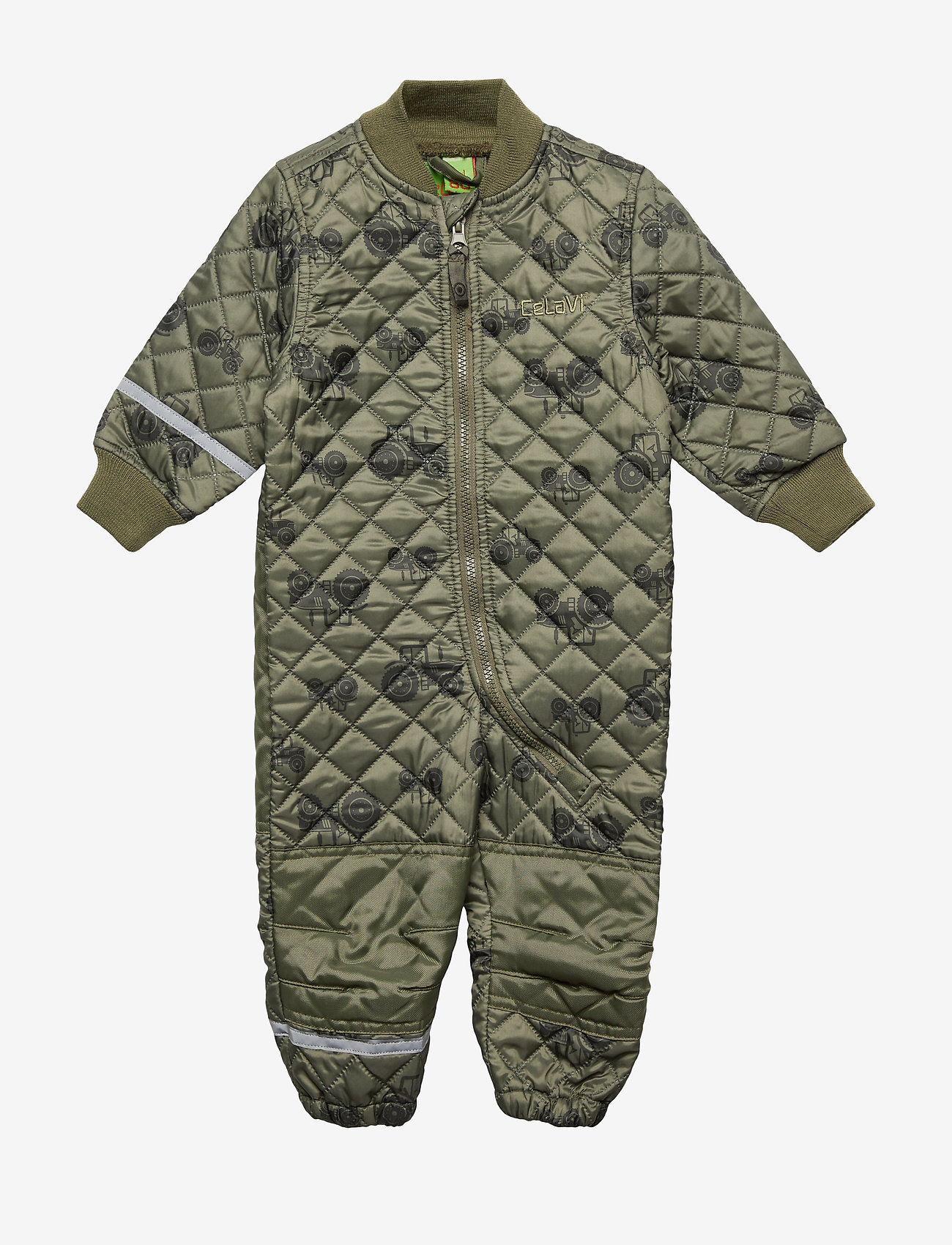 CeLaVi - Basic thermal suit - AOP - thermo - dusty olive - 0