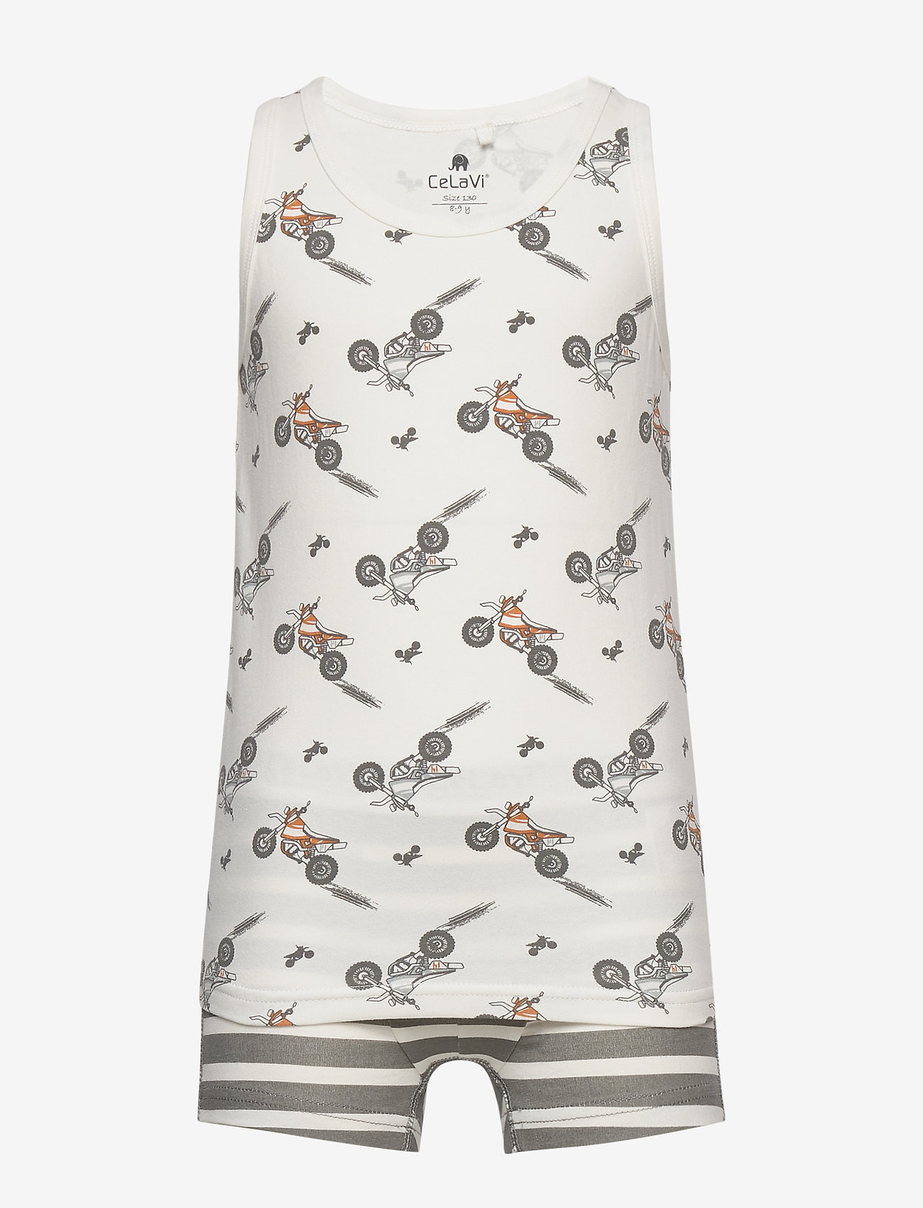 CeLaVi - Underwear set - w. boy print - bielizna komplet - quiet shade - 0