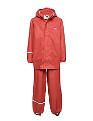 Basci rainwear set, solid - BAKED APPLE